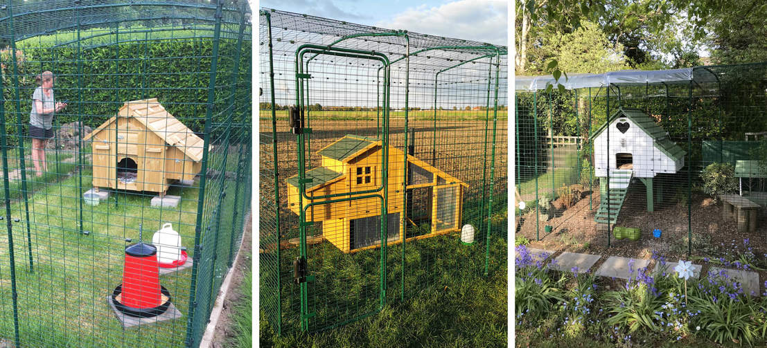 Incredibly versatile, the Walk In Run works with any existing wooden coop.