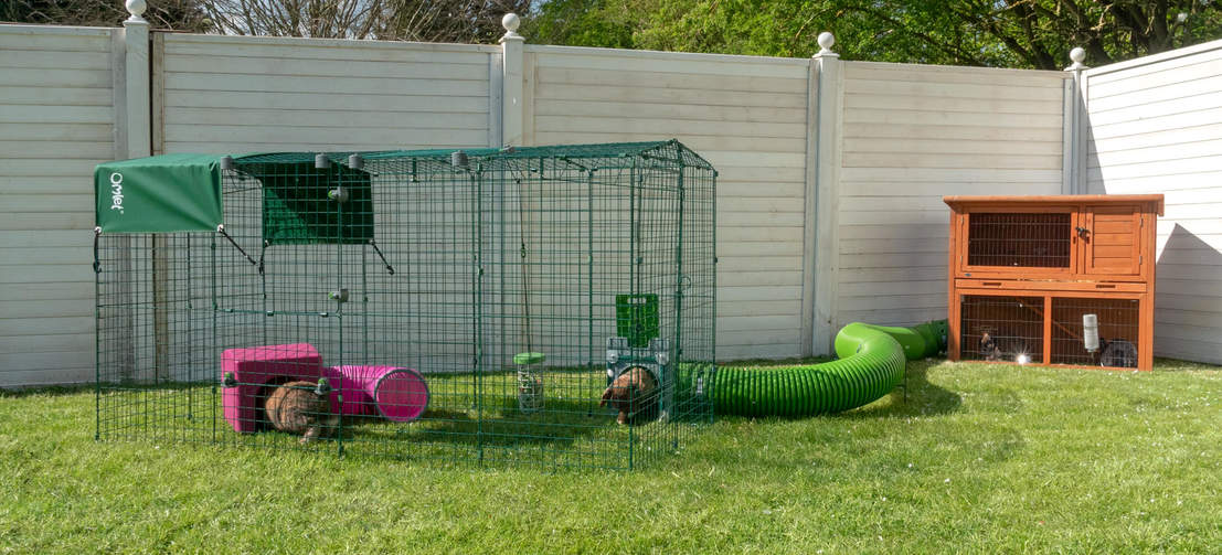 Zippi Rabbit Shelters provide your pets with a hidey hole to relax in their Zippi enclosure.