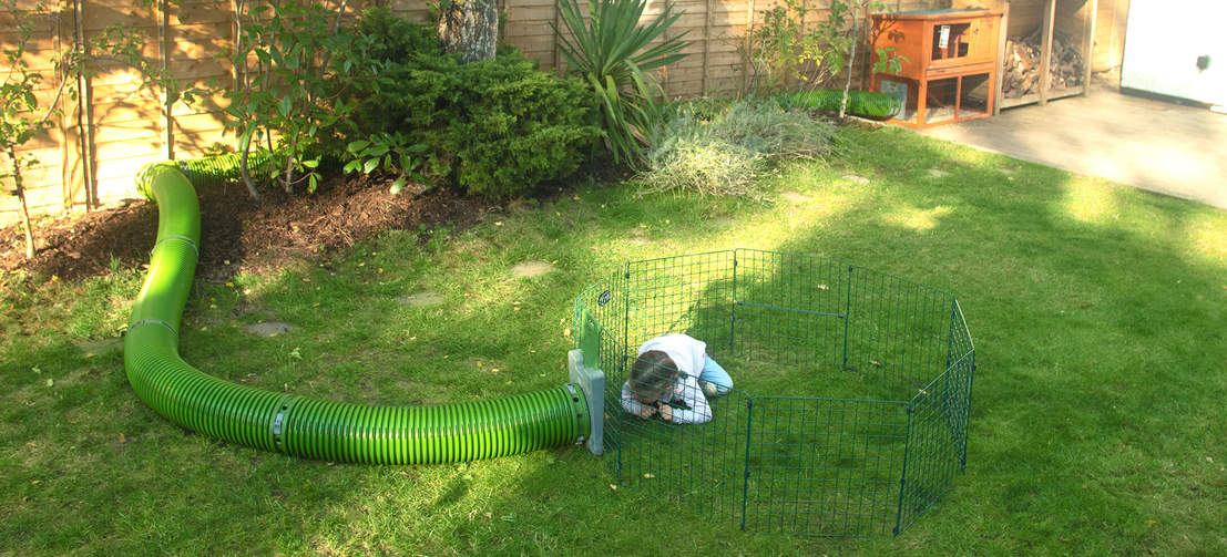 Open Rabbit Playpens are great for kids to enjoy spending time with their pets.