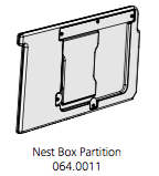 Cube Mk2 Partition Assembly (064.0011) - Purple