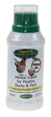 Verm-X Herbal - Urtedrik til fjerkræ - 250ml