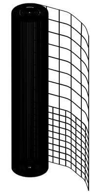 Omlet Chicken Fencing - 12 metres - Mesh only
