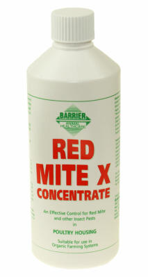 Concentrado Anti Ácaros Rojos Barrier - 500ml