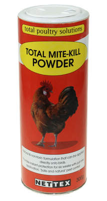 Nettex Diatomaceous Earth - Total Mite Kill Powder - 300g