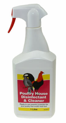 Battles Poultry House Disinfectant and Cleaner - 1L
