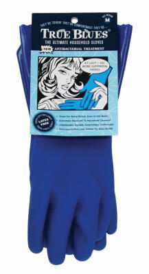 Ultimate Cleaning Gloves Blue Medium