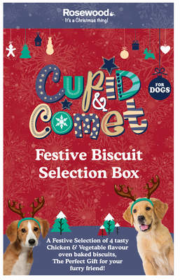 Festive Biscuit Selection Box for Dogs 350g
