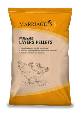 Feed - Farmyard Layers Pellets - Non Organic 20kg