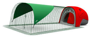 Eglu Classic Rabbit Hutch with 2m Run Package - Red