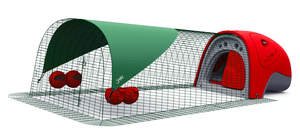 Eglu Classic Chicken Coop with 2m Run Package - Red