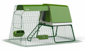 Eglu Go UP Chicken Coop with 2m Run Package - Leaf Green