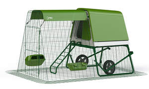 Eglu Go UP Chicken Coop with 2m Run and Wheels Package - Leaf Green
