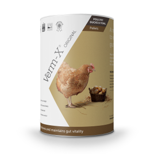 Verm-X Herbal Pellets for Chickens 250g