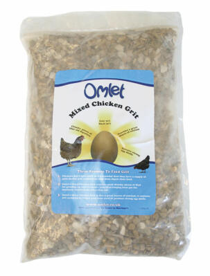 Omlet Mixed Chicken Grit 1.25KG Bag