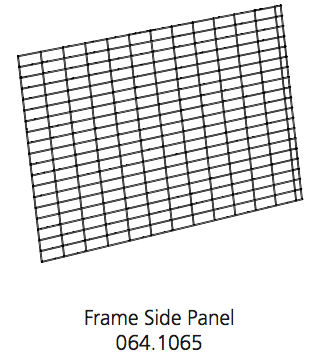 Cube Mk2 Run Panel Frame Side (064.1065)