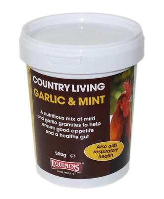 Equimins Garlic and Mint Granules 500g