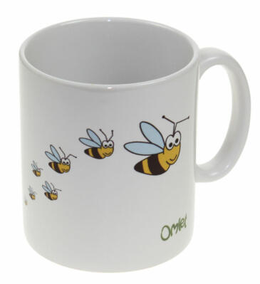 Mug Omlet I Love my Bees - Set of 4