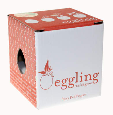 Eggling Crack & Grow - Rode peper