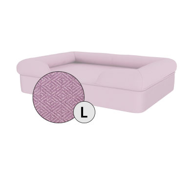Bolster Dog Bed Cover Only - Large - Lavender Lilac