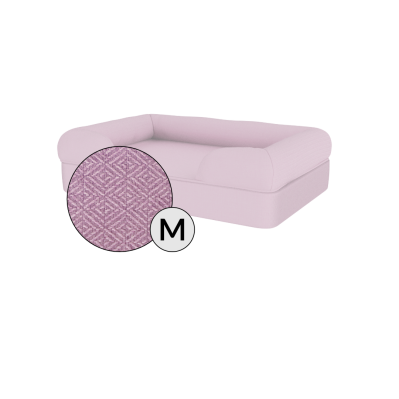 Bolster Dog Bed Cover Only - Medium - Lavender Lilac