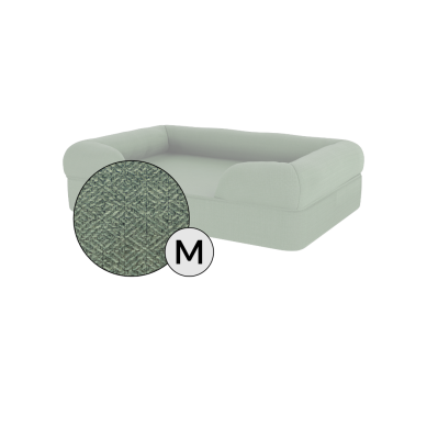 Bolster Dog Bed Cover Only - Medium - Sage Green