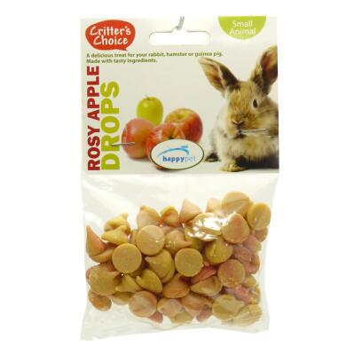 Critter's Choice appel drops - 75g