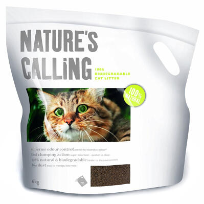 Nature's Calling Cat Litter 6kg