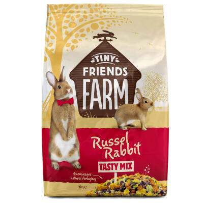 Russel Rabbit 'Tasty Mix' från Tiny Friends Farm - 5kg