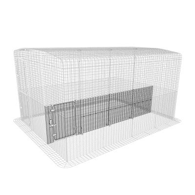 Outdoor Guinea Pig Run Partition Low - 4 Panels