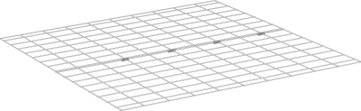 Underfloor Mesh for Eglu Classic Run Extension B  002.0090