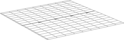 Underfloor Mesh for Eglu Classic Run Extension A