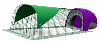 Eglu Classic Rabbit Hutch with 2m Run Package - Purple