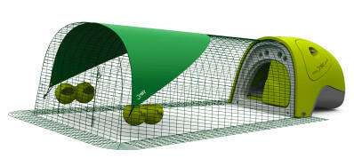 Eglu Classic Chicken Coop with 2m Run Package - Green