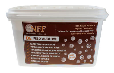 Diatomaceous Earth - DE Feed Additive - 1kg
