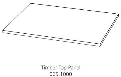 Fido Studio Timber Panel Top 24 White (065.1000.0001)