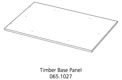 Fido Studio Timber Panel Base 36 White (065.1027.0001)