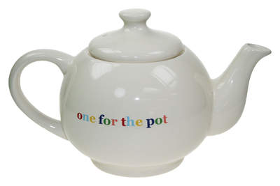 Lexicon Stoneware 'One for the Pot' Teapot