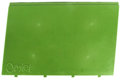 Eglu Go - Side Outer Panel Left Leaf Green (005.0007.0005)