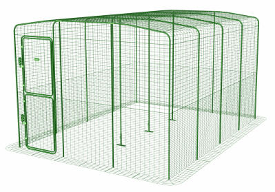 Outdoor Rabbit Run - 3 x 4 x 2