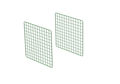 Zippi Guinea Pig Run Extension Panels - Single Height - Pack of 2