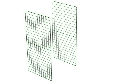 Zippi Rabbit Run Extension Panels - Double Height - Pack of 2
