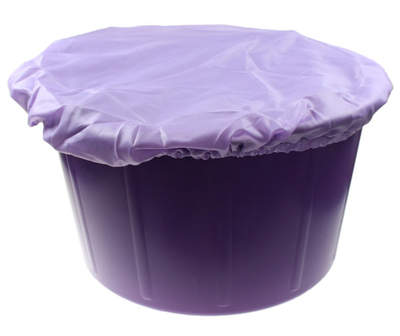 Feed Bucket Cover Purple