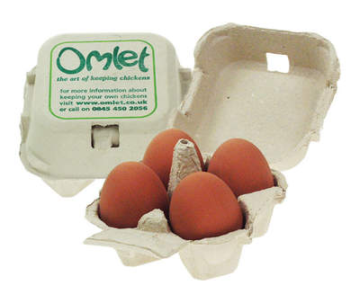 Egg Boxes - Omlet - Pack of 20