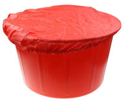 Feed Bucket Cover Red