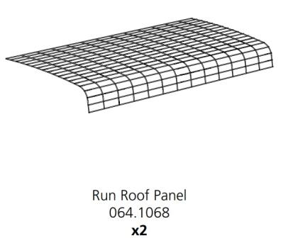 Cube Mk2 Run Panel Roof (064.1068)