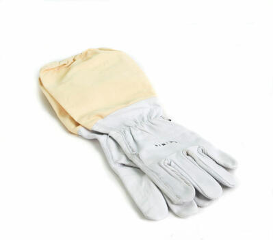 Leather Beekeeping Gloves - Large