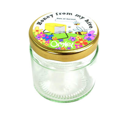 Honey Jars & Labels - Pack of 12