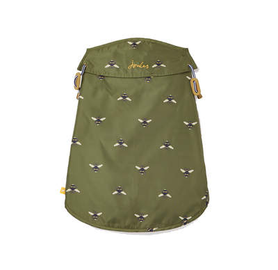 Joules Olive Bee Water Resistant Coat - Small