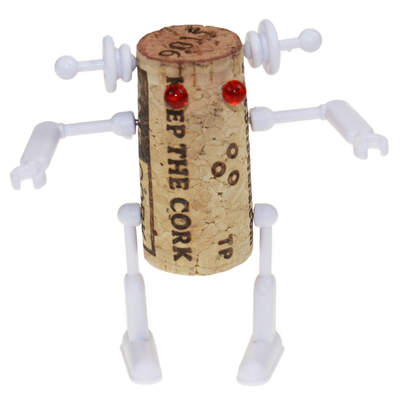 Corkers Cork Robot Kit - Bella