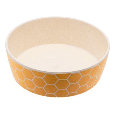 Beco Bamboo Bowl Honeycomb - Large
